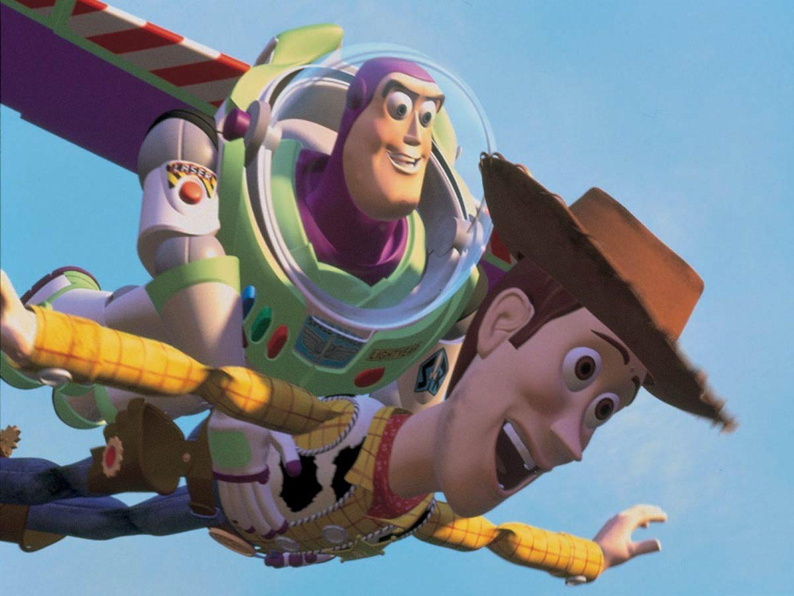 Toy Story Woody Buzz Lightyear