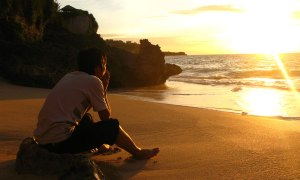 human-and-sunset